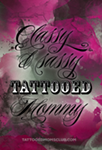 Classy and Sassy Tattooed Mommy Wallpaper