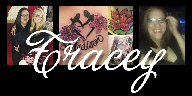 Featured Tattooed Mom: Tracey R.