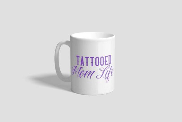 Tattooed Mom Life Ceramic Mug