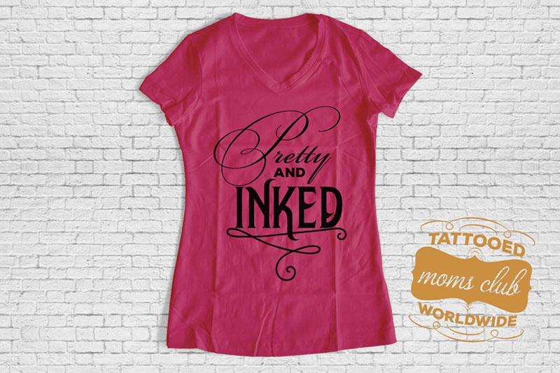 Pretty and Inked Women's V-Neck