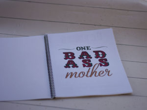 Tattooed Mom Life Calendar Book Inside
