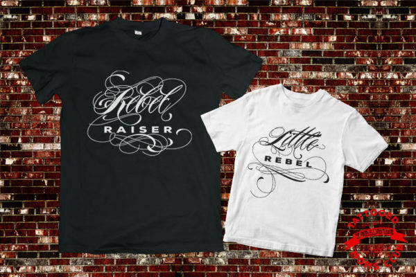 Rebel Raiser and Little Rebel Mommy and Me Shirts